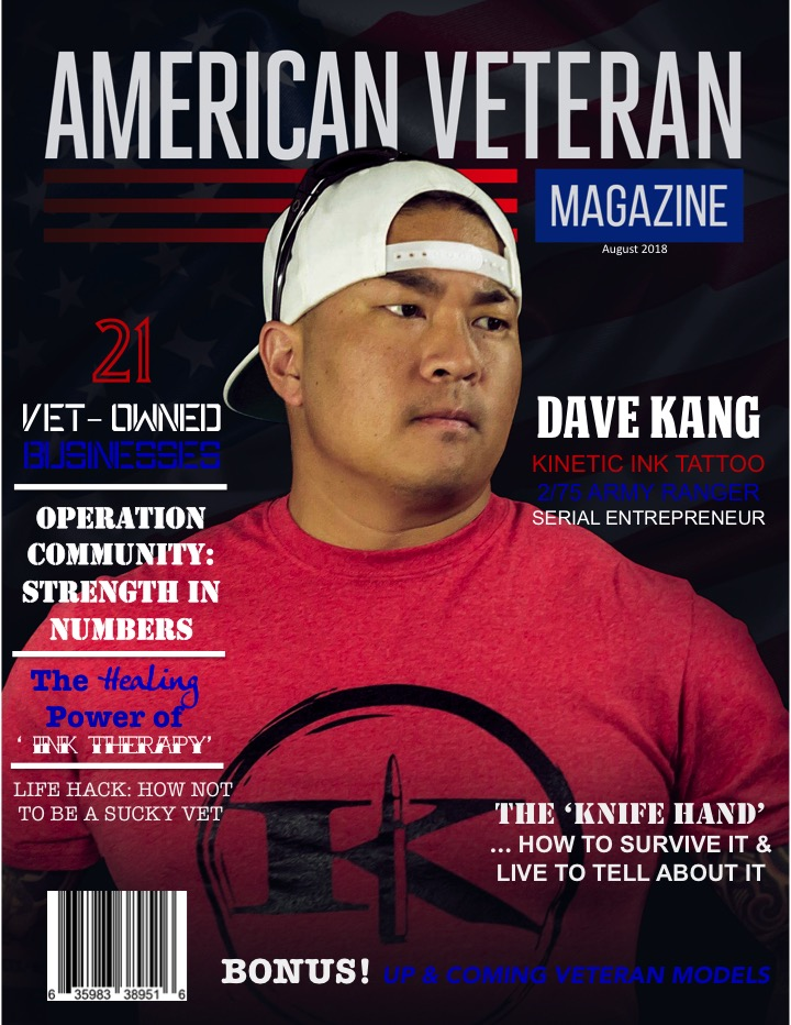 Dave KangFeatured In 'AmericanVeteran Magazine' -