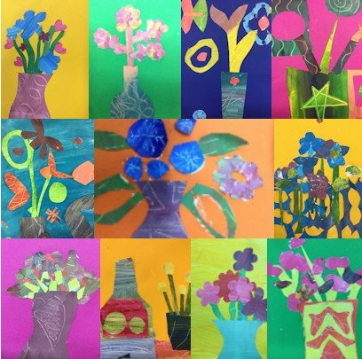 Painting and collage workshop - St Martins School - Gilling.jpg