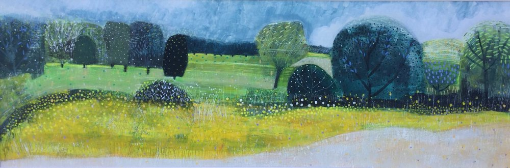Derwent Meadow - 3ft x 19in - Acrylic on gesso on board.jpg