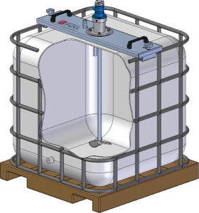 A typical Limesol IBC with Stirrer