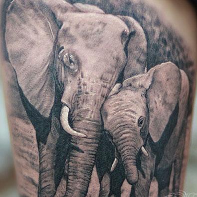 Animal Tattoos -