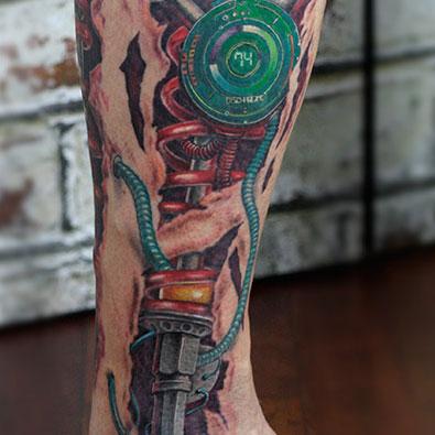 Biomechanical Tattoos -
