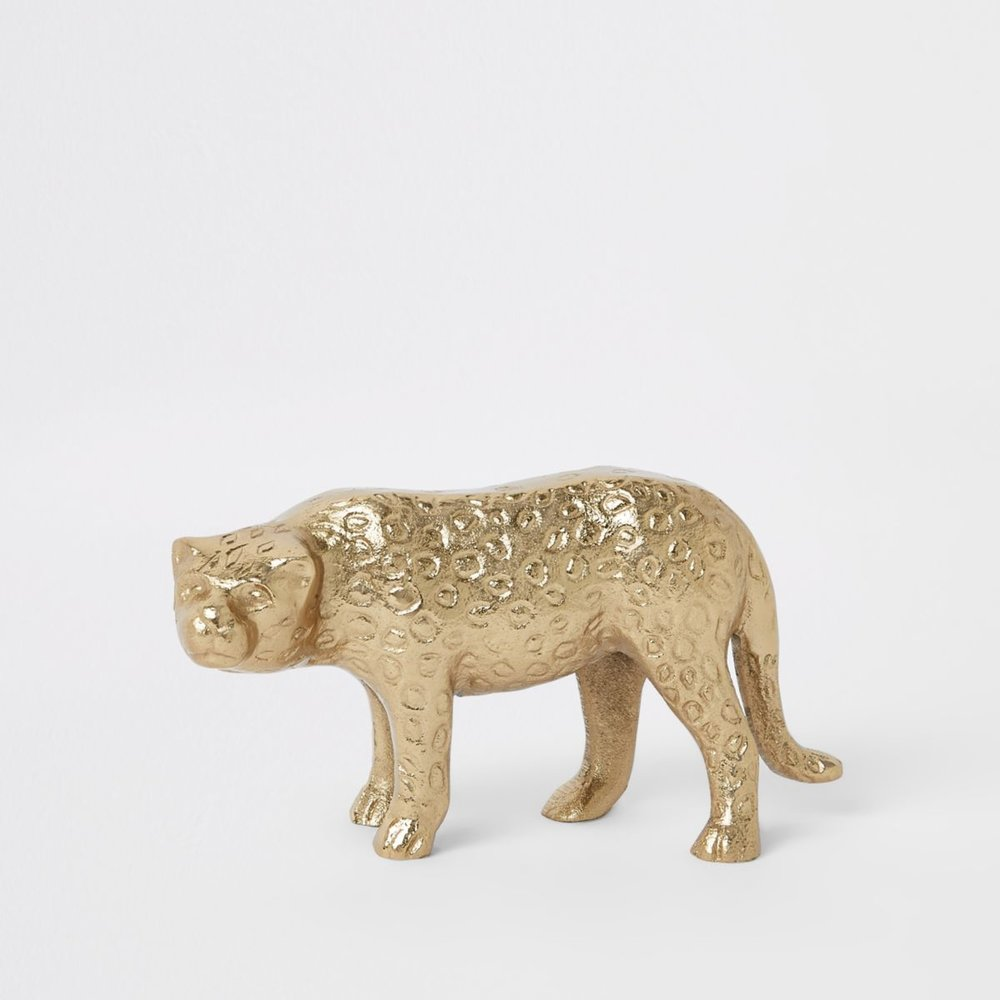 Gold Panther Ornament, £12