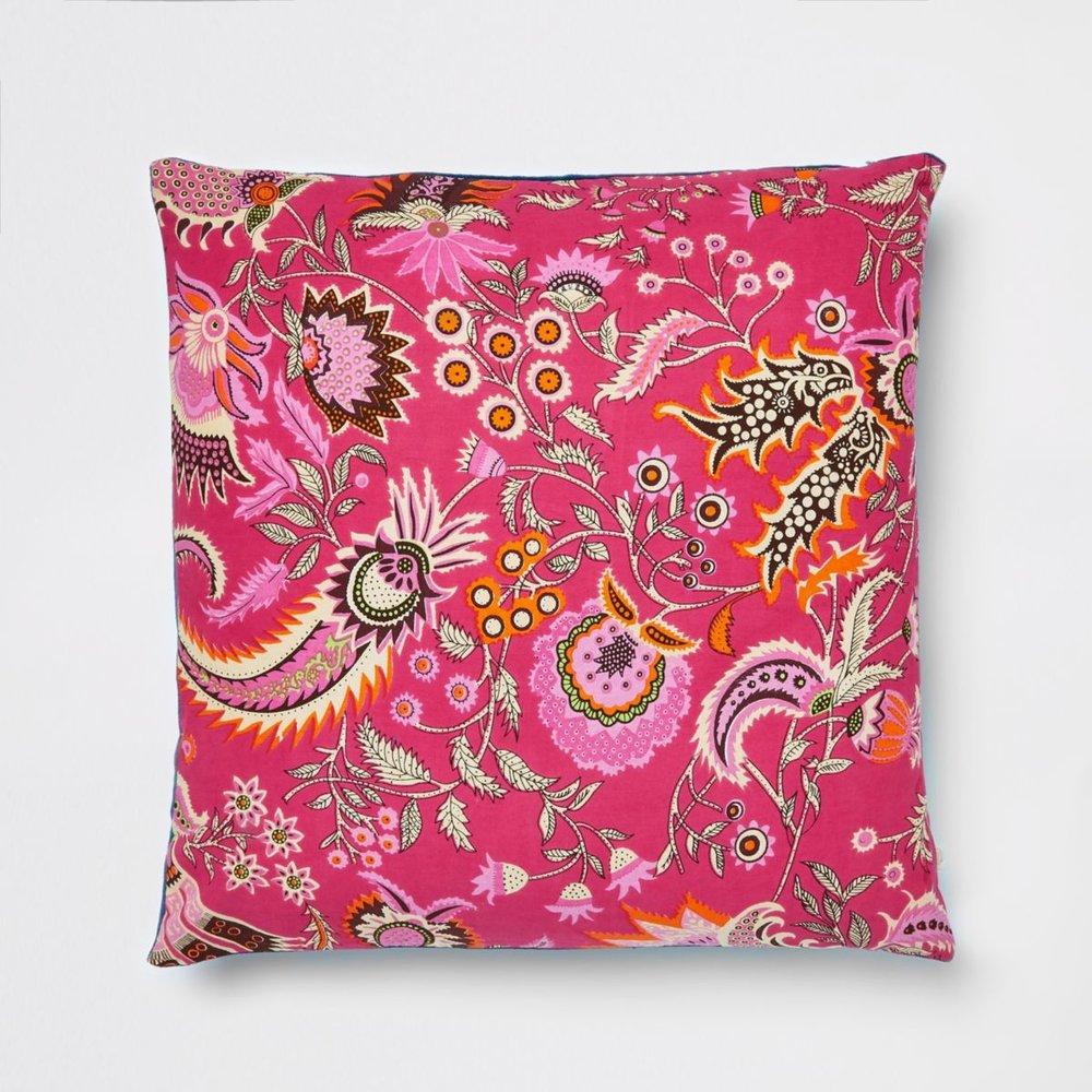 Pink Paisley Cushion, £30