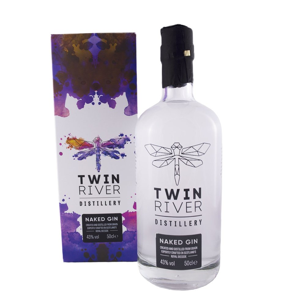 Twin River Naked Gin, £32