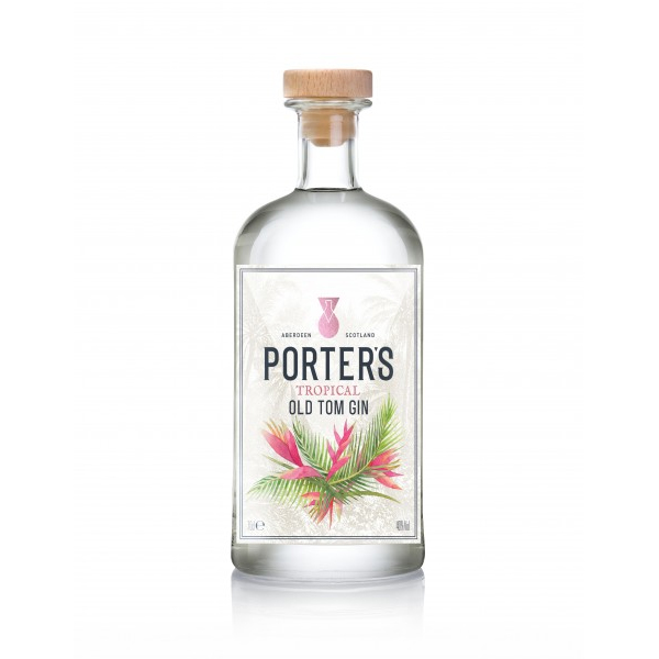 Porter's Tropical Old Tom Gin, £38