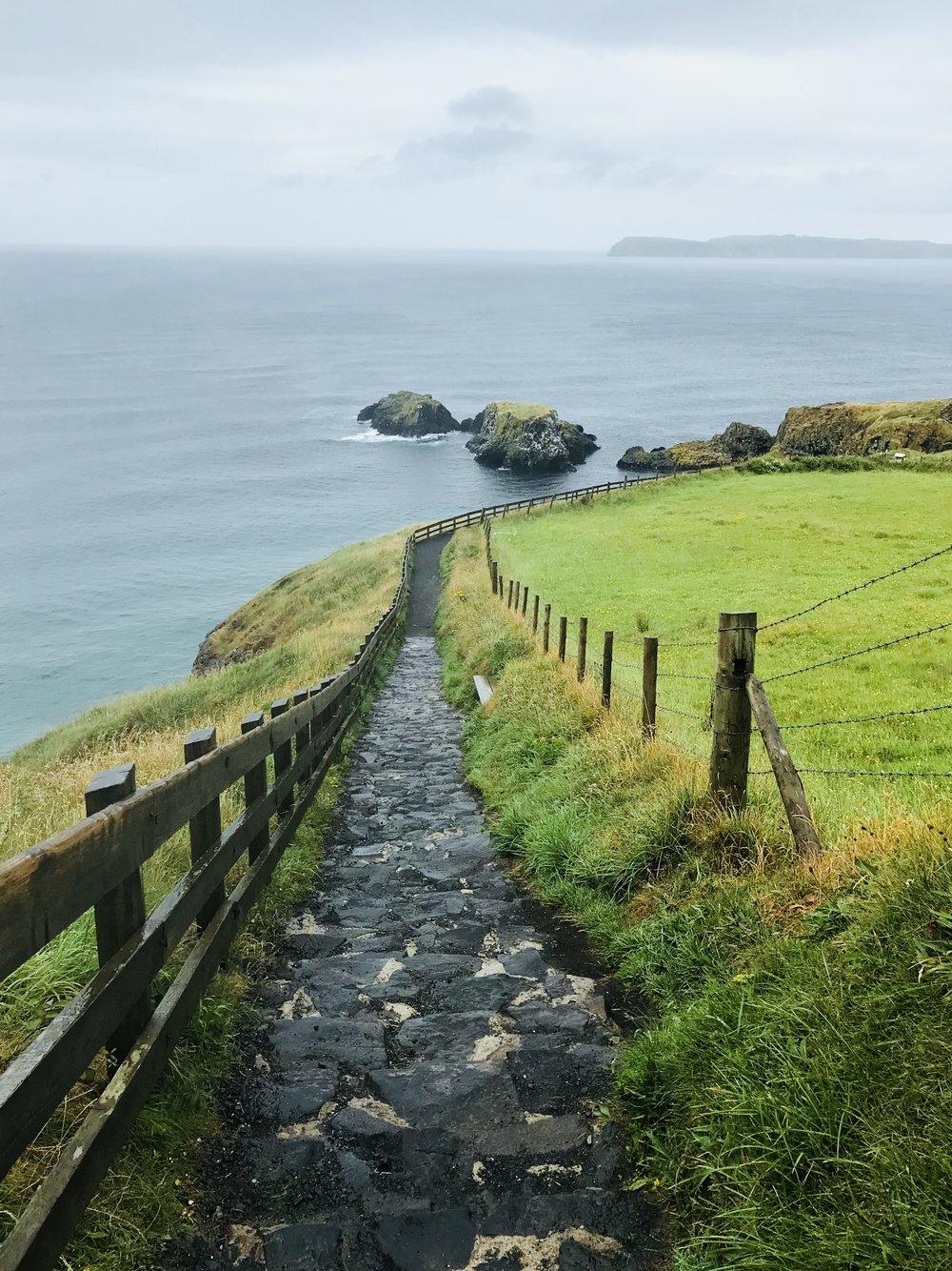 The Walk to Carrick-a-Rede Bridge