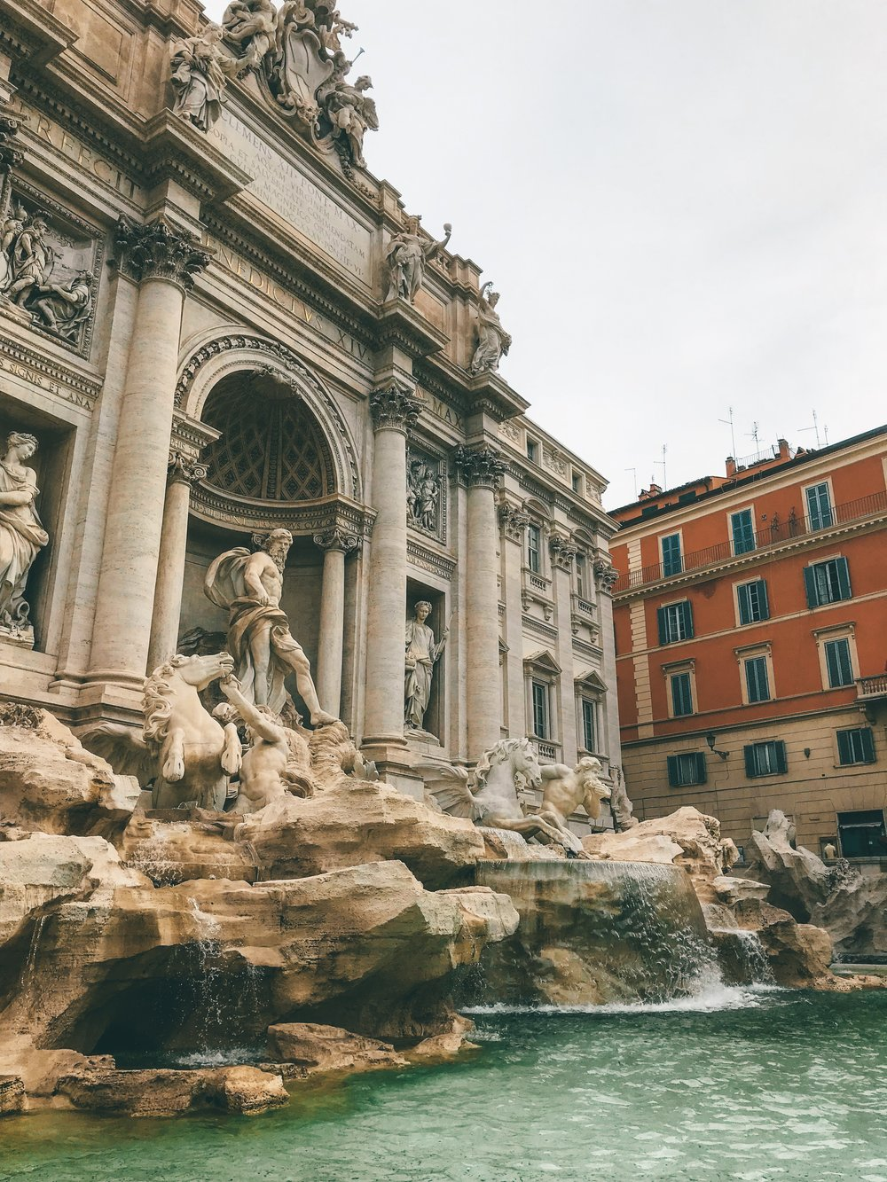 The Trevi Fountain by Day