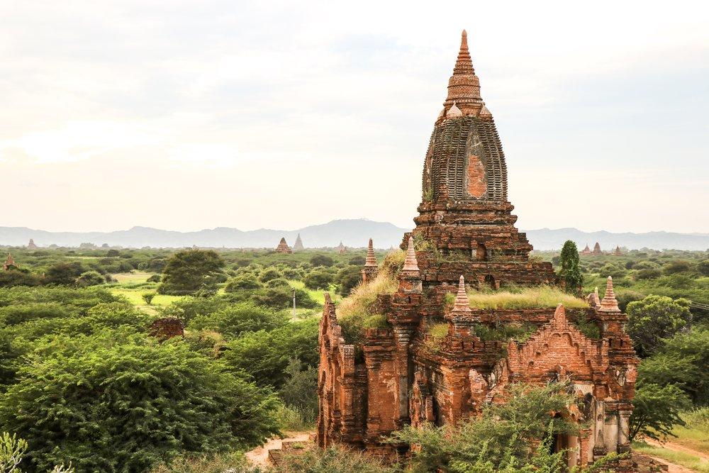 Viewpoint Beside Dhammayazaka Pagoda