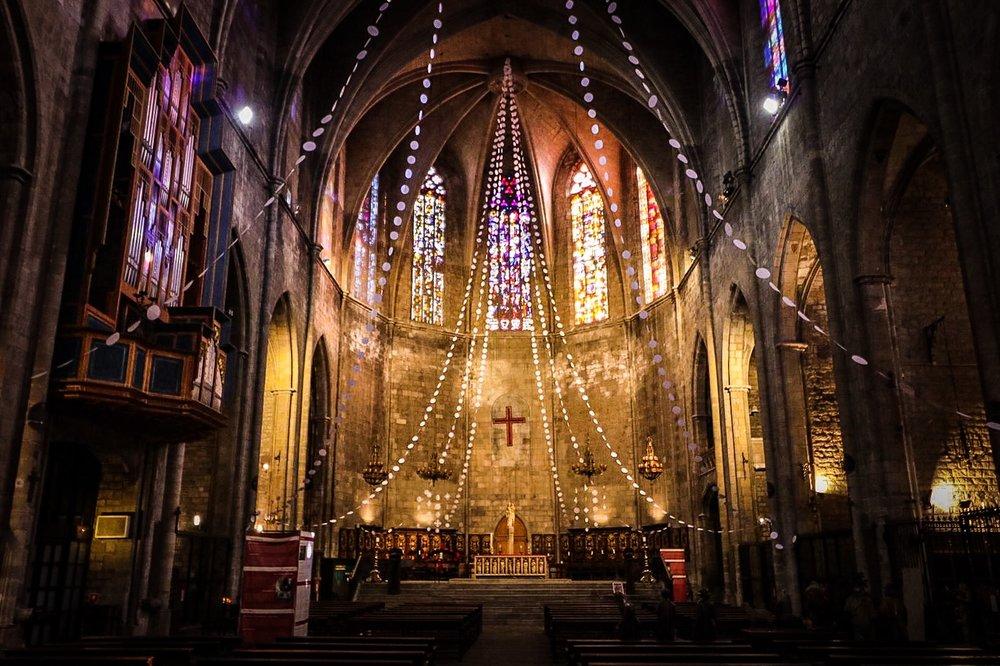 Interior - Santa Maria del Mar, Barcelona