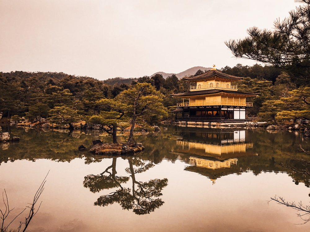 Kinkaku-Ji - the Pure Land of the Buddha - Kyoto, Japan.JPG