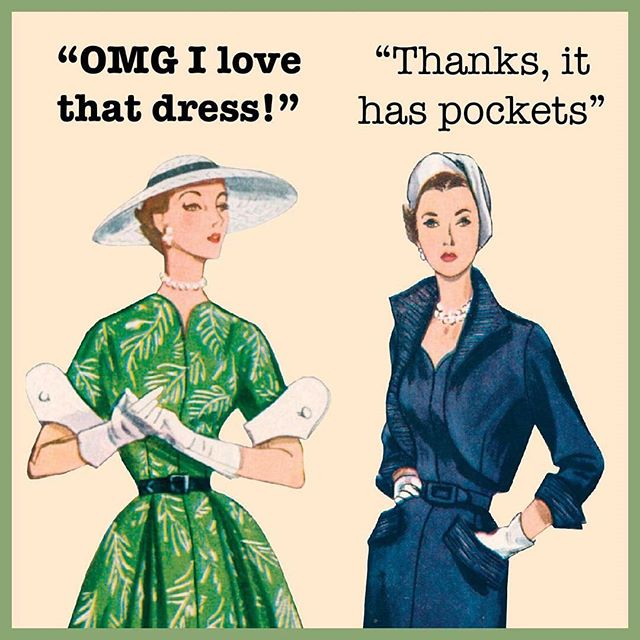 Offer still stands: bring me your dresses, skirts, trousers, shorts, jumpsuits, spacesuits, wetsuits, whatever - and I'll add pockets! €10 per outfit, message me for more info 😊