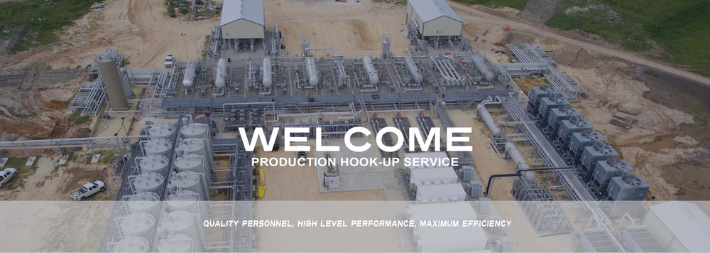 Production hookup services