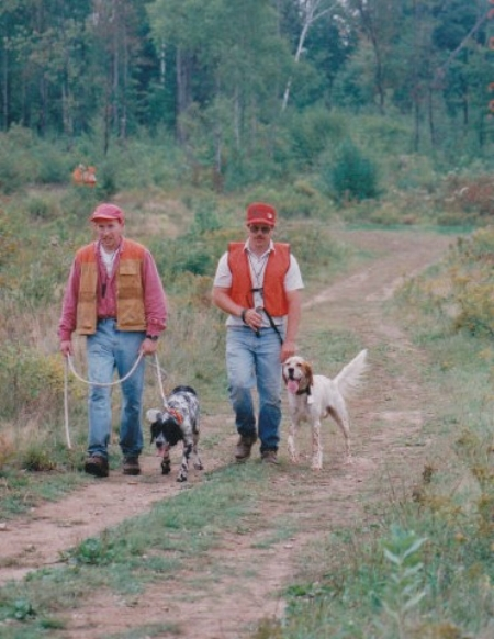 1997 Northeast llewellin setter gun dog trial
