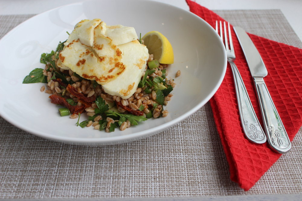 Halloumi with farro.jpg