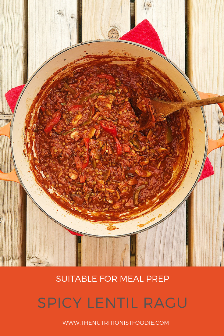 Pinterest recipe graphic spicy lentil ragu.png