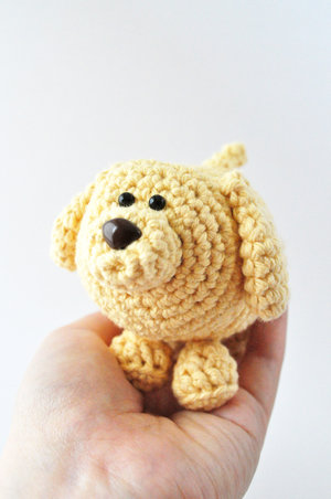 Dog Crochet Pattern The Pudgy Rabbit
