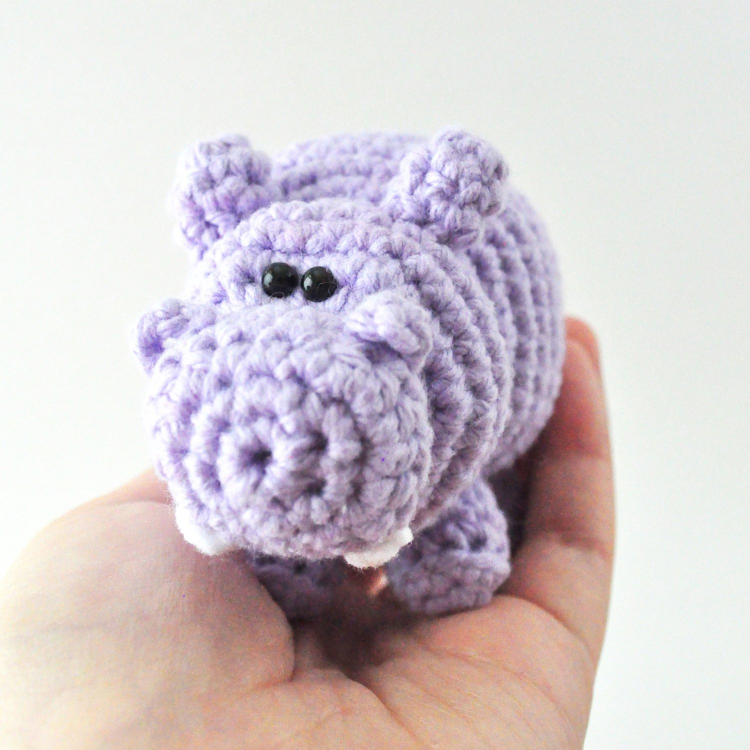 Hippo Crochet Pattern The Pudgy Rabbit