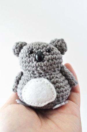 Koala Crochet Pattern The Pudgy Rabbit