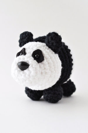 Panda Crochet Pattern The Pudgy Rabbit