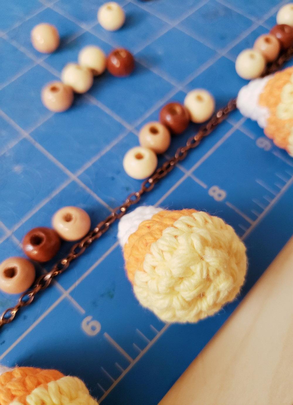 candy corn crochet pattern