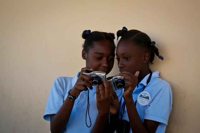 View Finder Workshop in Haiti by Babita Patel