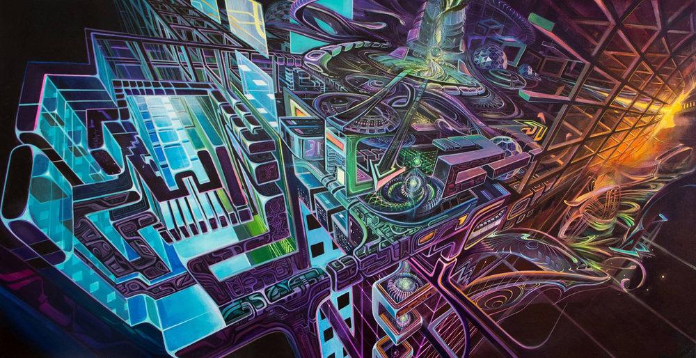 'Macrochip' by Jake Amason, Stephen Kruse, Seth McMahon, Zach Jackson