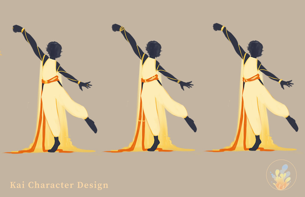 Character Design - All characters shown here are original characters and original designs. © 2018 Arya Vasudevan