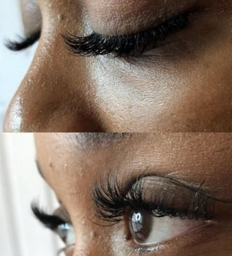 Princess Classic Full Set - Gives lashes a soft enhancement. This set is a nice introduction into lashes with 60+ lashes applied per eye. Great for clients who enjoy a full yet natural look