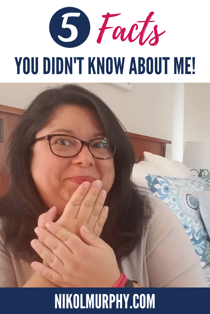 5 facts you didn't know about me!