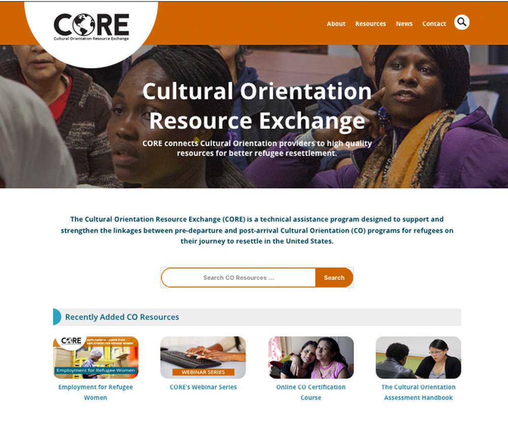 CO Resource Exchange Website