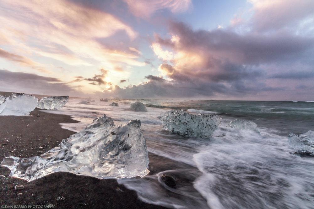 Iceland Ice Beach