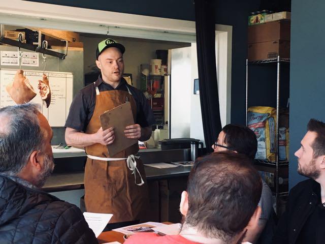 Chef Seamus Platt