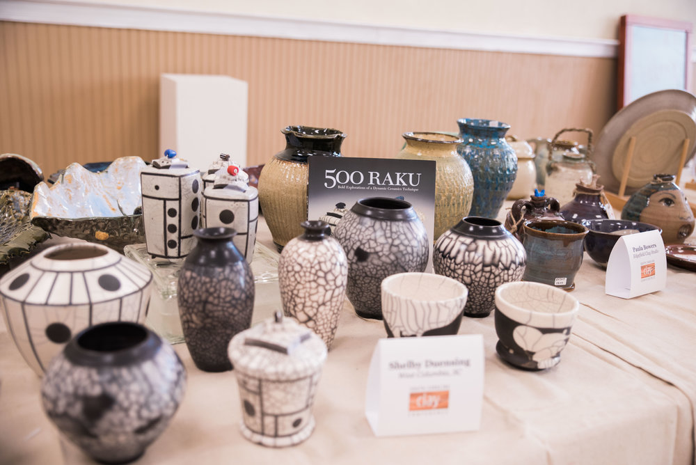 Work by Shelby Dunsing at SCCC Pottery Sale.  atteendee of SCCC.jpg
