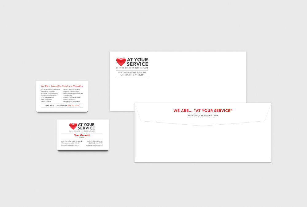Golden-Antler-Graphic-Design-Milwaukee-Web-Branding-Marketing-Wisconsin-At-Your-Service-Stationary-Envelope-Business-Cards-Printing