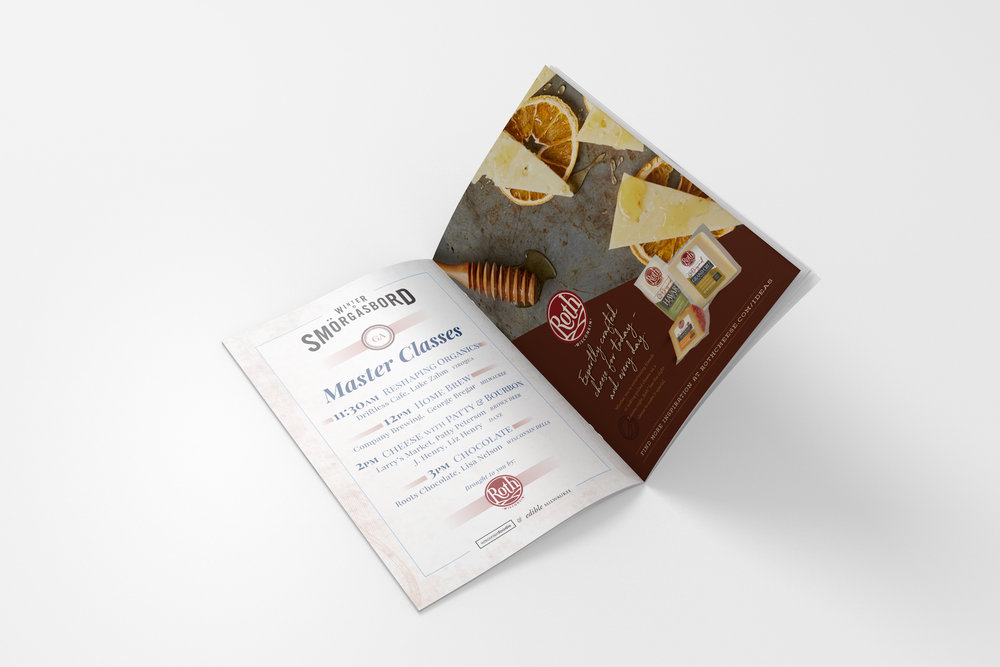 Golden-Antler-Design-Milwaukee-Web-Branding-Marketing-Wisconsin-Foodie-Edible-Milwaukee-Event-Program-Booklet-Design-Printing