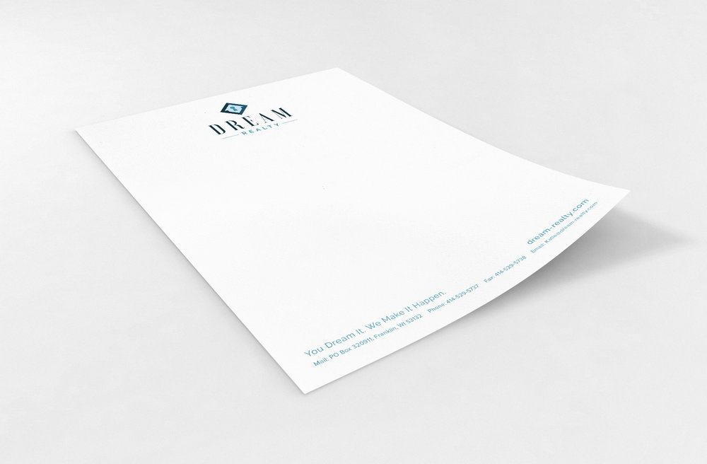 Golden-Antler-Design-Milwaukee-Wisconsin-Branding-Print-Web-Serivces-Letterhead-Printing-Dream-Realty