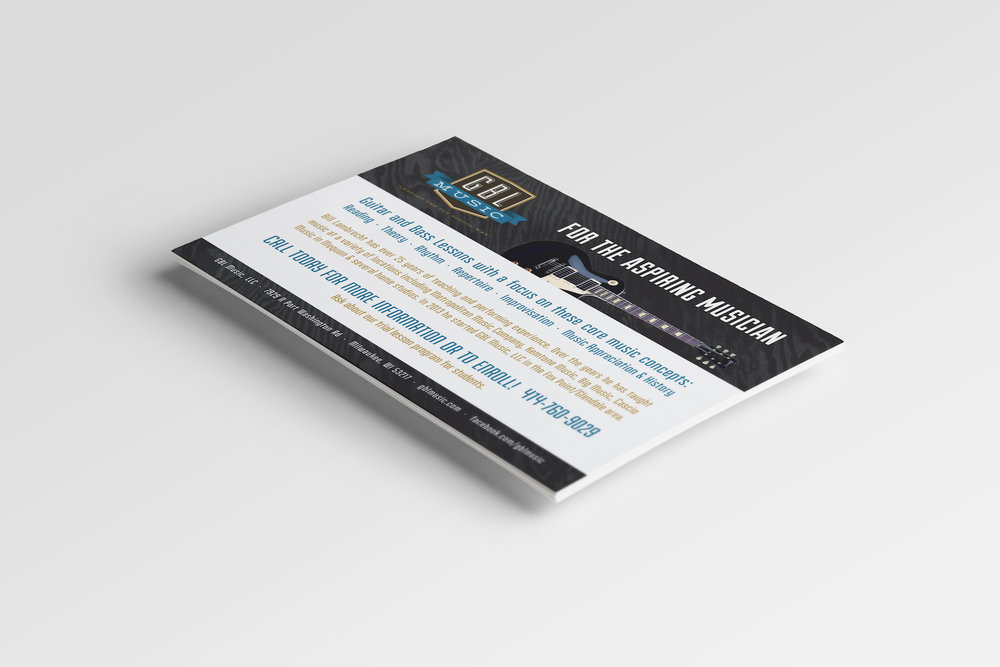 Golden-Antler-Design-Milwaukee-Web-Branding-Marketing-GBL-Music-Postcard-Printing