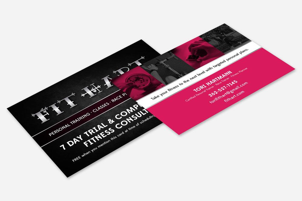 Golden-Antler-Graphic-Design-Milwaukee-Web-Branding-Marketing-Wisconsin-FitHart-Fitness-Postcard-Event-Promotion