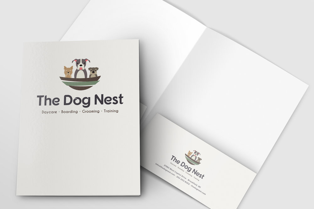 Golden-Antler-Graphic-Design-Milwaukee-Web-Branding-Marketing-Wisconsin-The-Dog-Nest-Custom-Folders-Printing