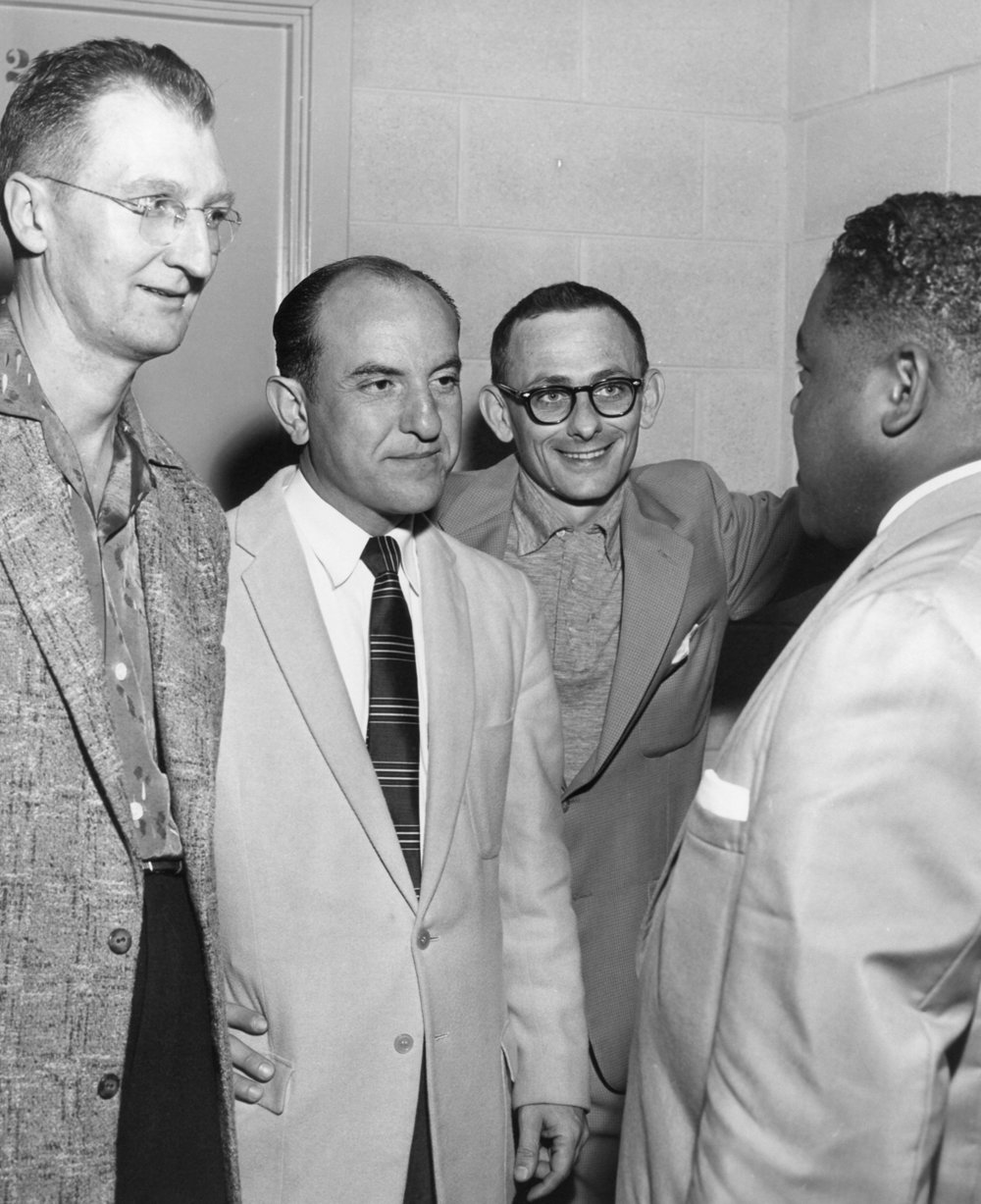 Leonard Mixon, Eddie, Unknown, Fats Domino