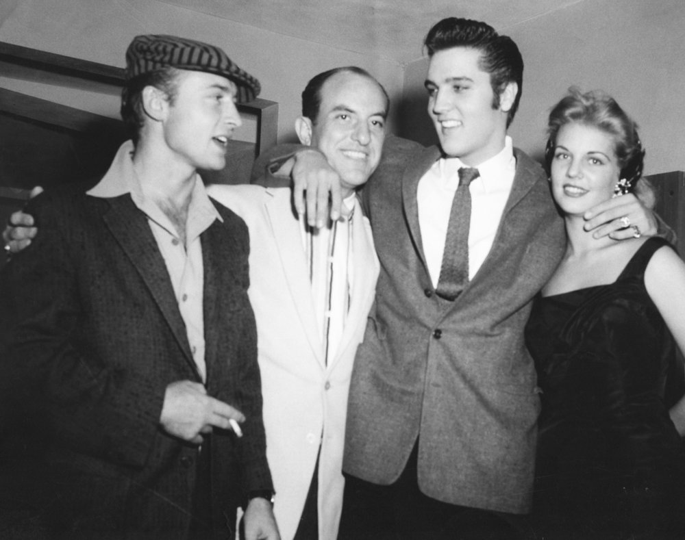 Nick Adams, Eddie, Elvis, Unknown Fan