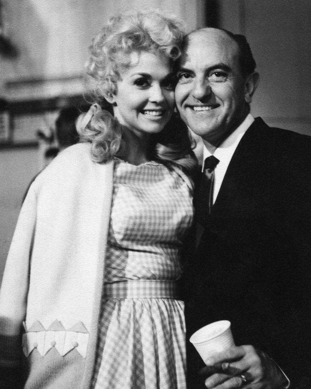 Donna Douglas & Eddie