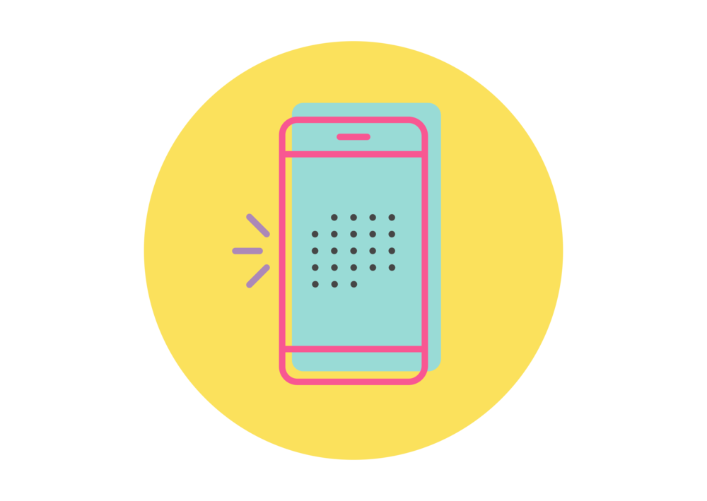 phone icon for scheduling jobs working with special needs