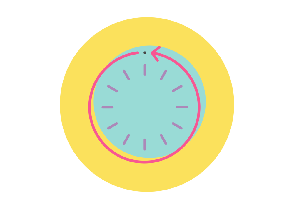 clock icon for on-demand disability care