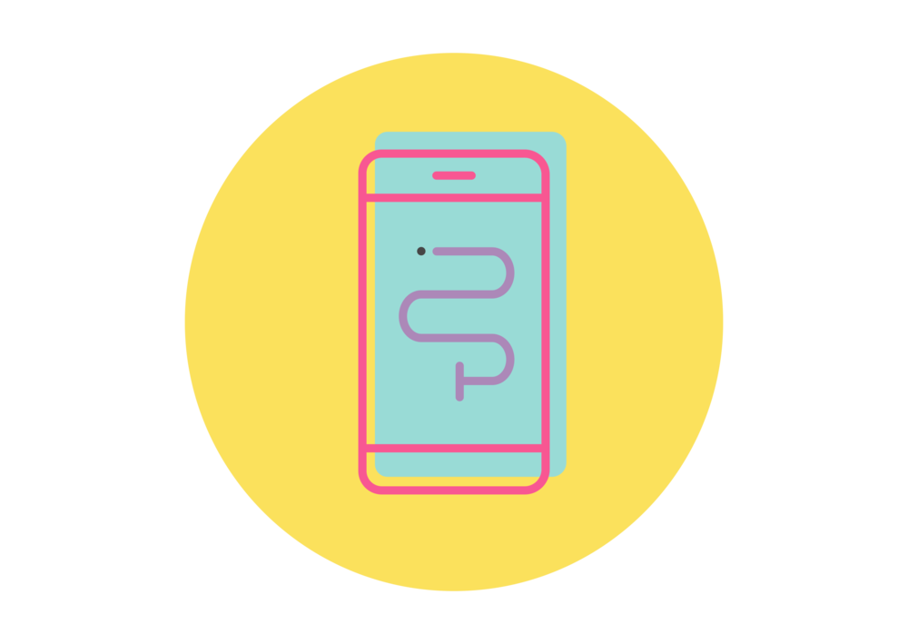 Smart phone icon to highlight the flexibility in careers working with special needs