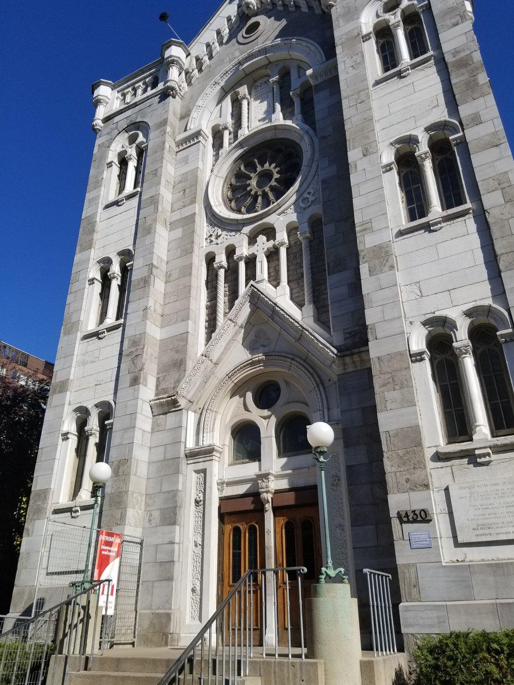 Chapelle Notre-Dame de Lourdes
