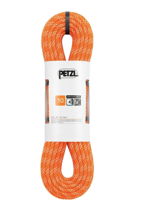 "Petzl ""club"" 70 m static rope. image from gotyourgear."