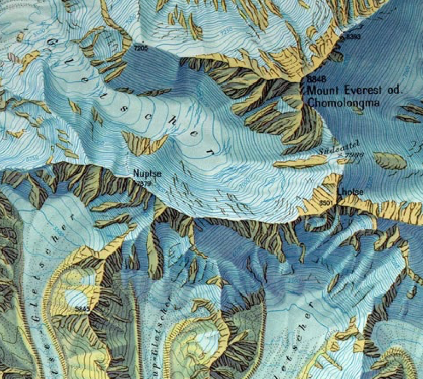 Mt. Everest hand drawn relief shading.png
