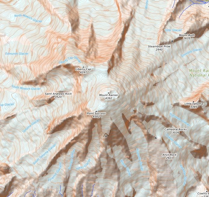 Open Topo map example, Mt Rainier.png